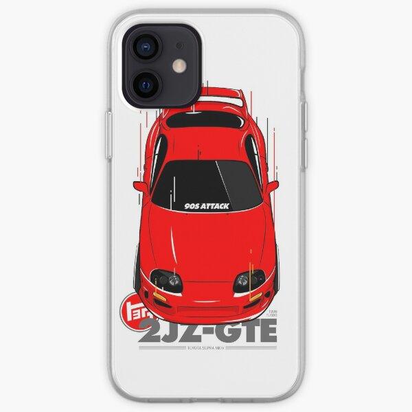 Toyota Supra 90s Attack iPhone Soft Case