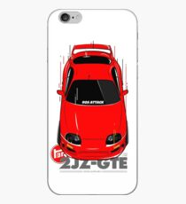 Toyota Supra 90s Attack iPhone Case