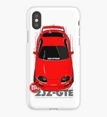 Toyota Supra 90s Attack iPhone Case