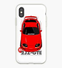 Toyota Supra 90er Angriff iPhone-Hülle & Cover