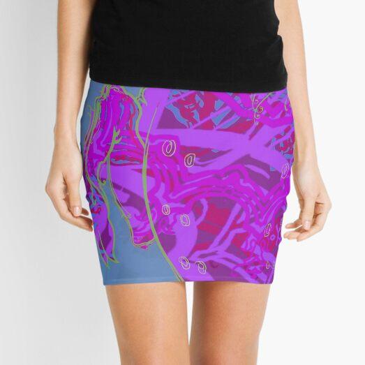 Mikonodon Nightflage Mini Skirt