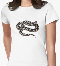Nose-horned Viper (Vipera ammodytes) Womens Fitted T-Shirt