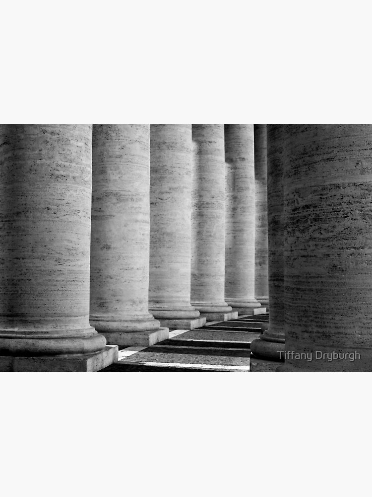 Columns of St Peter's by Tiffany