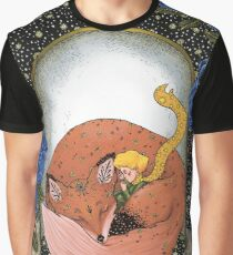 The Little Prince - Red version Graphic T-Shirt