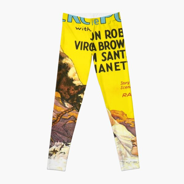 Vintage poster - Rin-Tin-Tin Leggings