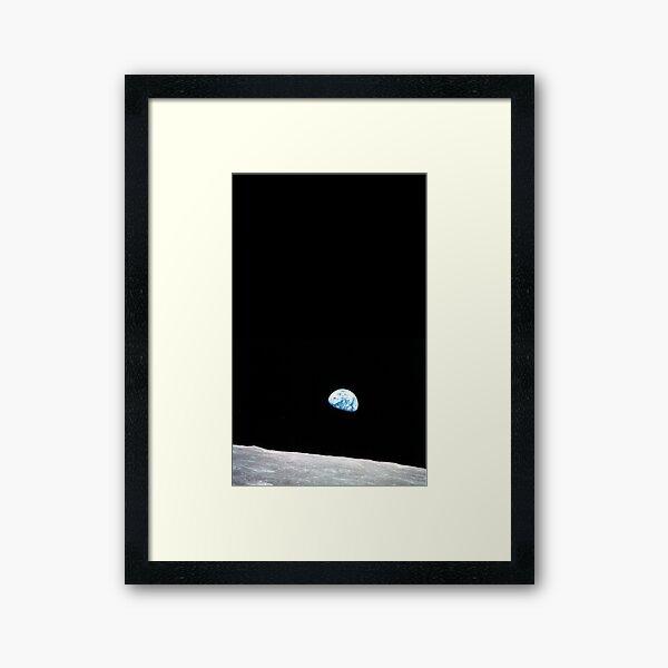 Earth Rise Framed Art Print