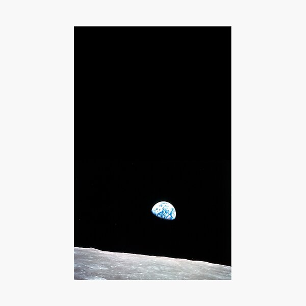 Earth Rise Photographic Print