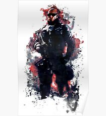 Rainbow Six Siege Pulse Painting Poster