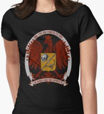 We Devour Those Who Suppress Us-CREST Women's Fitted T-Shirt