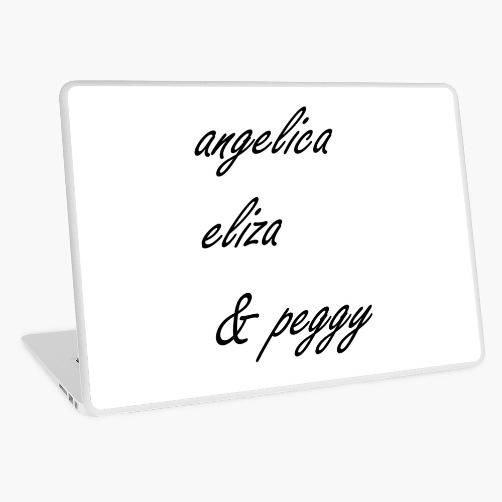 Angelica Y Cintia angelica eliza and peggy | laptop skin