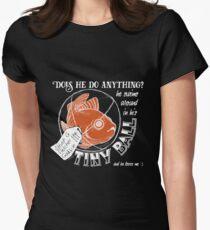 TAZ Steven the Goldfish (B) Womens Fitted T-Shirt