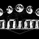Mondstein Stonehenge von Diane LeonardArt