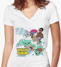 Ugly God Women's Fitted V-Neck T-Shirt