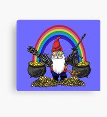 Gnome Guns Canvas Print