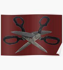 Scissoring Scissors Poster