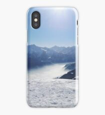 Below the Mountains, under the Snow iPhone Case/Skin