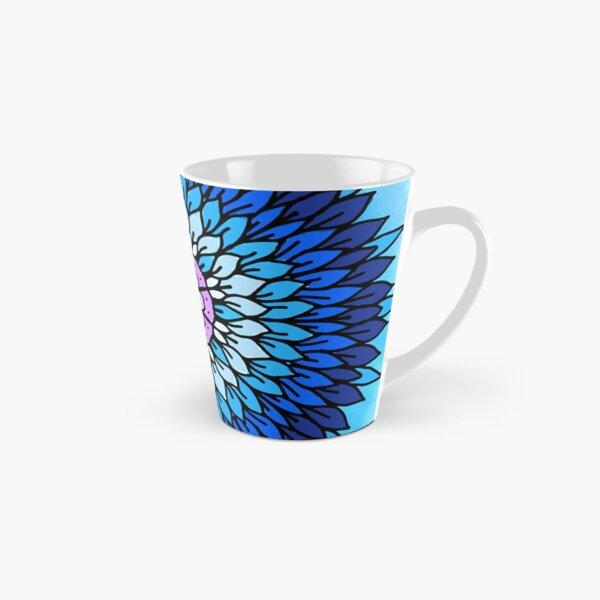 Blue Petals Tall Mug