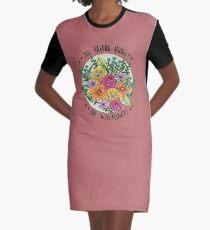 Sie gehören zu den Wildblumen T-Shirt Kleid