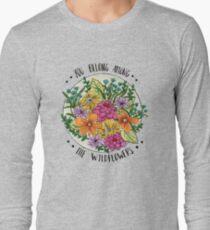 Camiseta de manga larga Usted pertenece a las flores silvestres