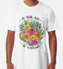 Camiseta larga Usted pertenece a las flores silvestres