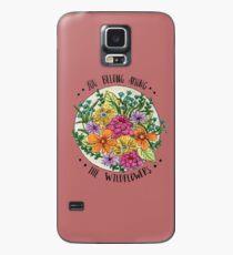 Sie gehören zu den Wildblumen Hülle & Klebefolie für Samsung Galaxy