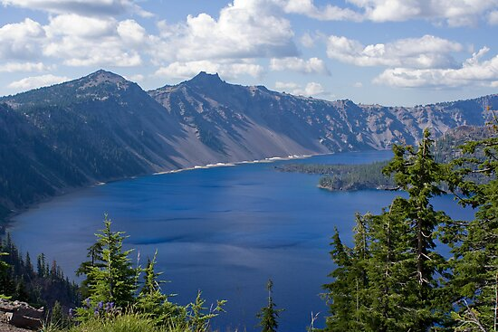 Crater Lake by Chris Clarke