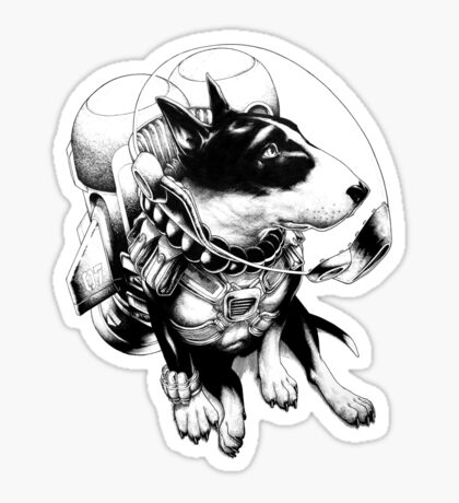 Jetpack Dog | Curtiss Sticker