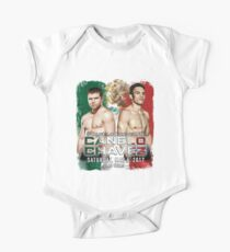 Canelo vs Chavez Jr Official Poster (T-Shirts, Phone Cases and more) One Piece - Short Sleeve