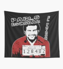 Pablo Escobar  Wall Tapestry