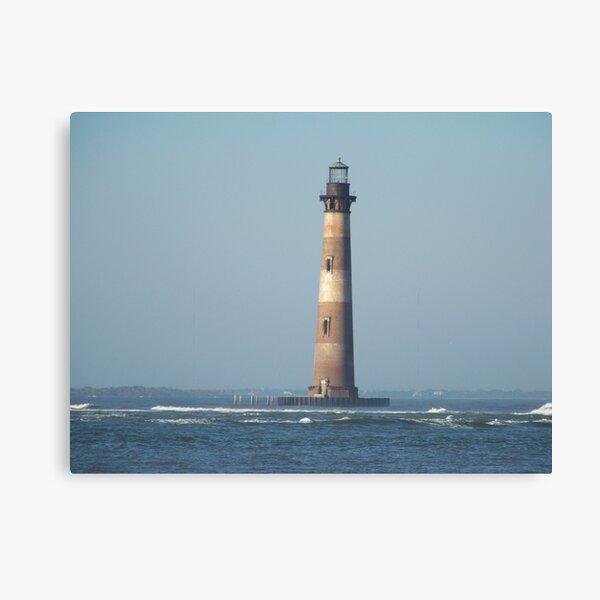 This little Light on Morris Island Canvas Print
