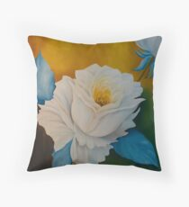 Rosas Throw Pillow