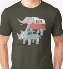 Kombiphant and the rhino-beetle Unisex T-Shirt