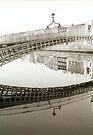 Ha'penny bridge Dublin by ragman