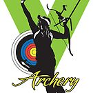 Victorious Archery Girl  by corsetti