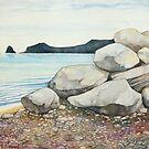 Monkstone Point by Nick Randles