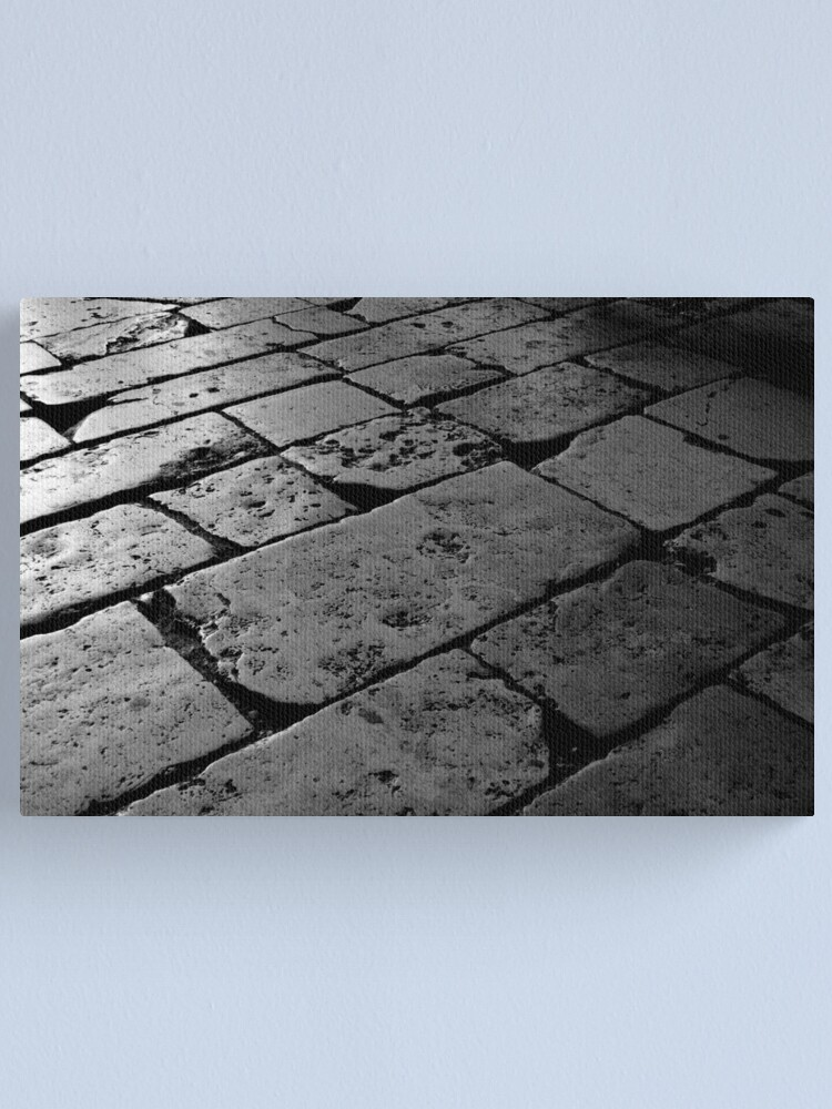 Alternate view of Colosseum Flagstones Canvas Print