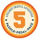 Anglesey Orbital Adventure Paddle Pedal Pace by Yvie Johnson