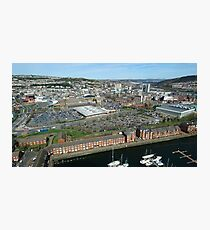 Swansea City Photographic Print