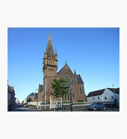 Martin's Memorial Church,Stornoway, Isle of Lewis Fotodruck
