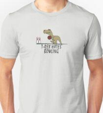 T-Rex - Hates Bowling Unisex T-Shirt