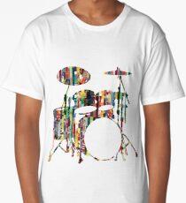 Rockin' Drum Kit Long T-Shirt