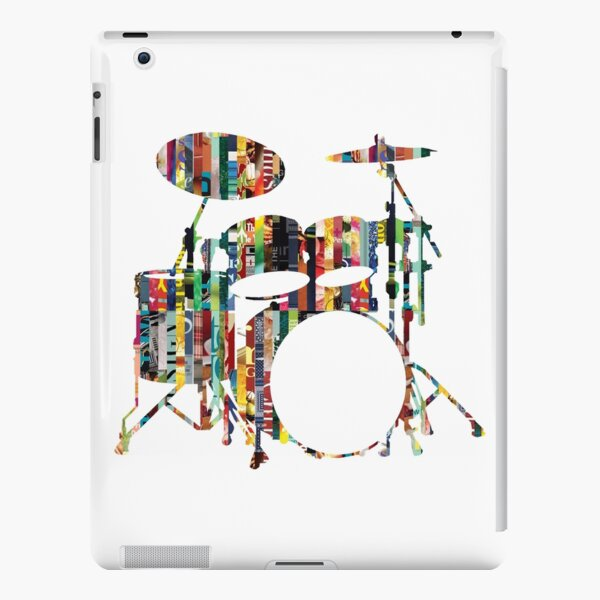 Rockin' Drum Kit iPad Snap Case