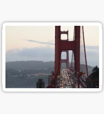 Golden Gate Rush Hour Sticker
