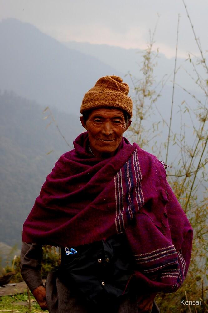 Nepalese Sherpa (colour) by Kensai