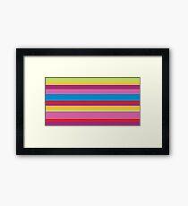 Stripes - Fun! Fun! Fun! Framed Print