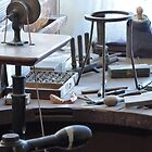 Old dentist workbench by Tony Blakie