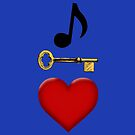 Music Is Key To My Heart by flyoff