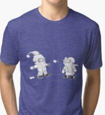 Snow Skellies Tri-blend T-Shirt