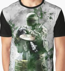 Rainbow Six Siege Tachanka Painting Graphic T-Shirt