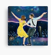 Midnight In LaLa Land Canvas Print
